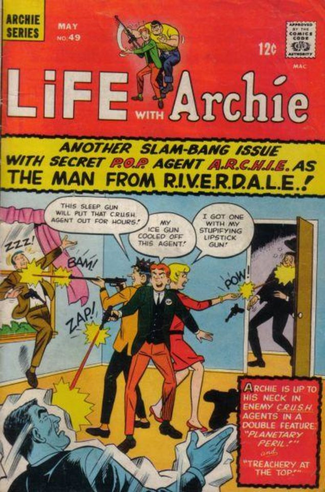 Photo -  Archie became a spy in