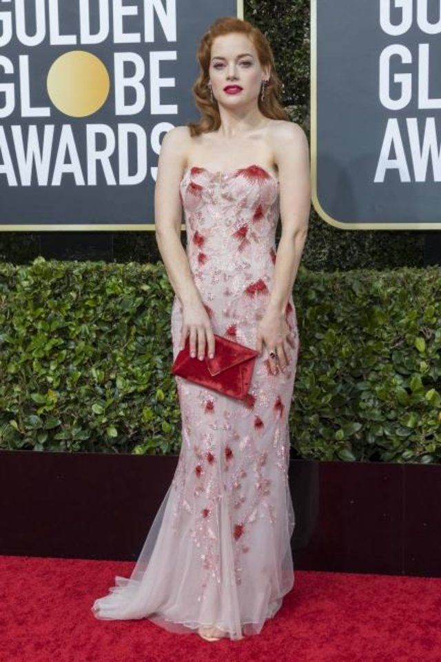Photo -  Jane Levy attends the 77th Annual Golden Globe Awards on Jan. 5 at Hotel Beverly Hilton in Beverly Hills, Los Angeles.  [Hubert Boesl/picture-alliance/dpa/AP Images]