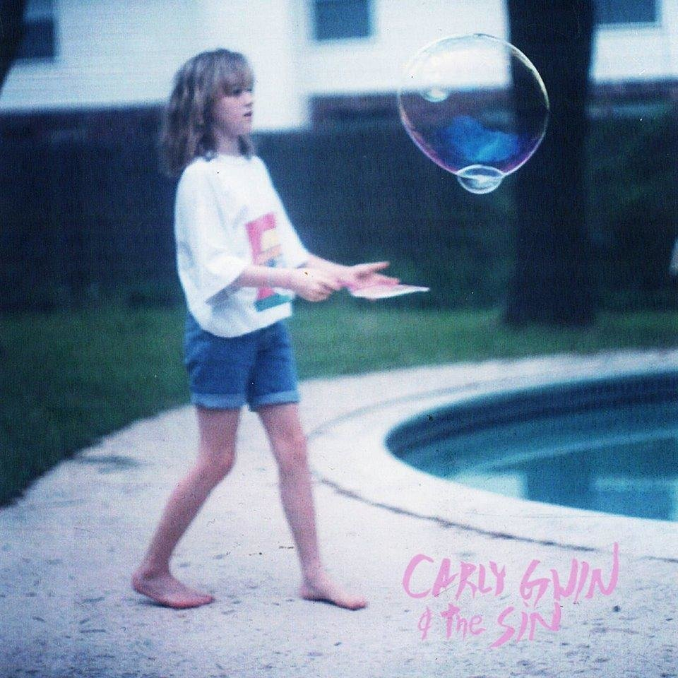 Photo -  Carly Gwin and the Sin's self-titled EP cover [Image provided]