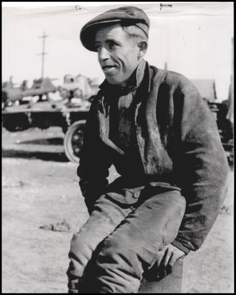 Photo -  Erle P. Halliburton is seen in the oilfield before establishing his cementing company. [THE OKLAHOMAN ARCHIVES]