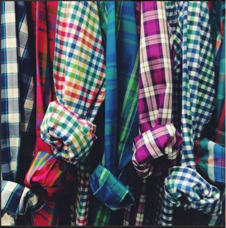 Photo - Southern style comfort wear in plaid combines one of the hottest fashion trends with classic design. Photo provided by SJ Haggard.