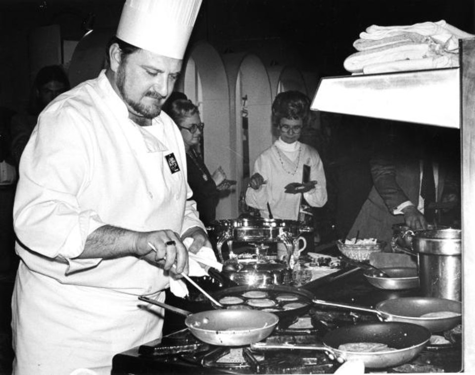Chef John Bennett Past Present And Forever Celebration Of Life Monday At Will Rogers Theatre
