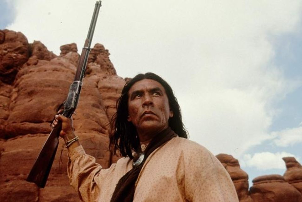 Photo -  Wes Studi plays the title role in the 1993 film