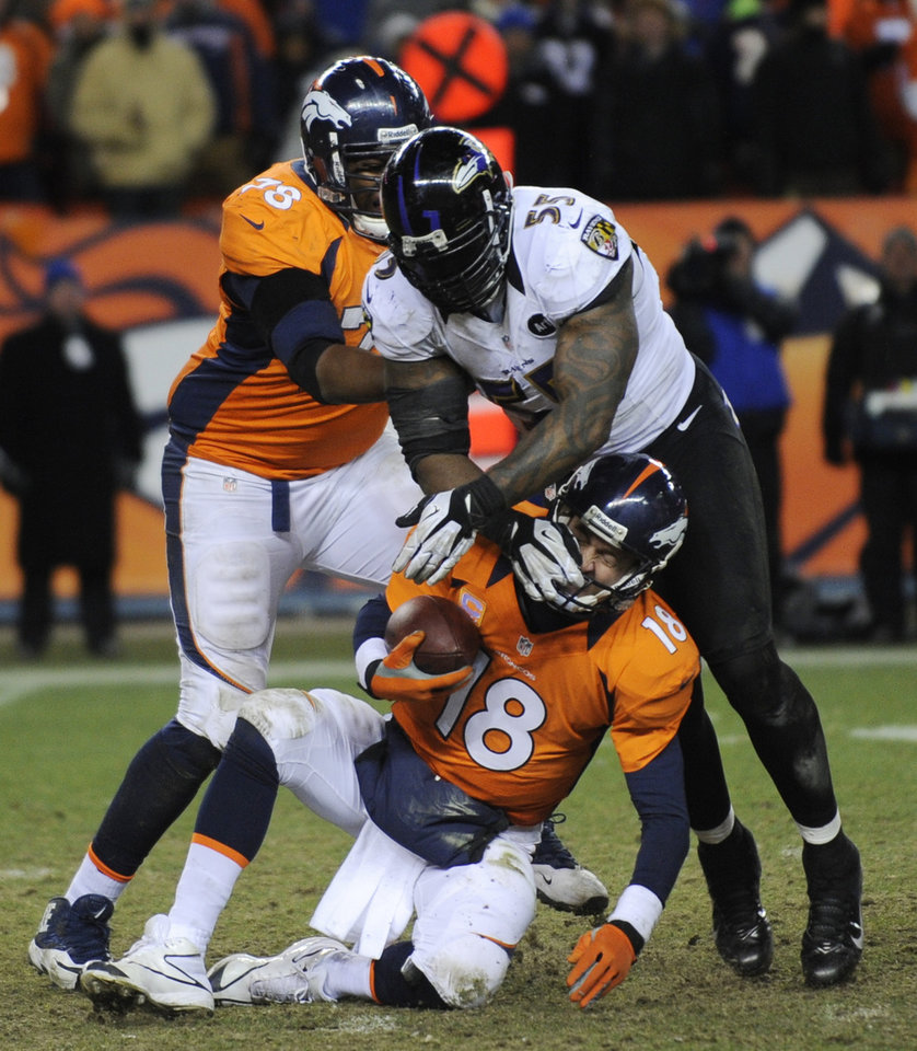 Manning Throws Ill-advised Pass In Broncos' Loss