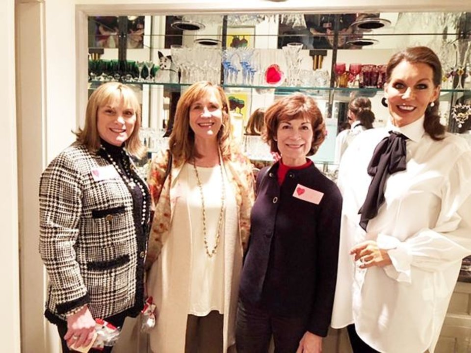 Photo -  Debra Bair, Claudia Robertson, Suzanne Bockus and Linda Slawson. [PHOTO PROVIDED]