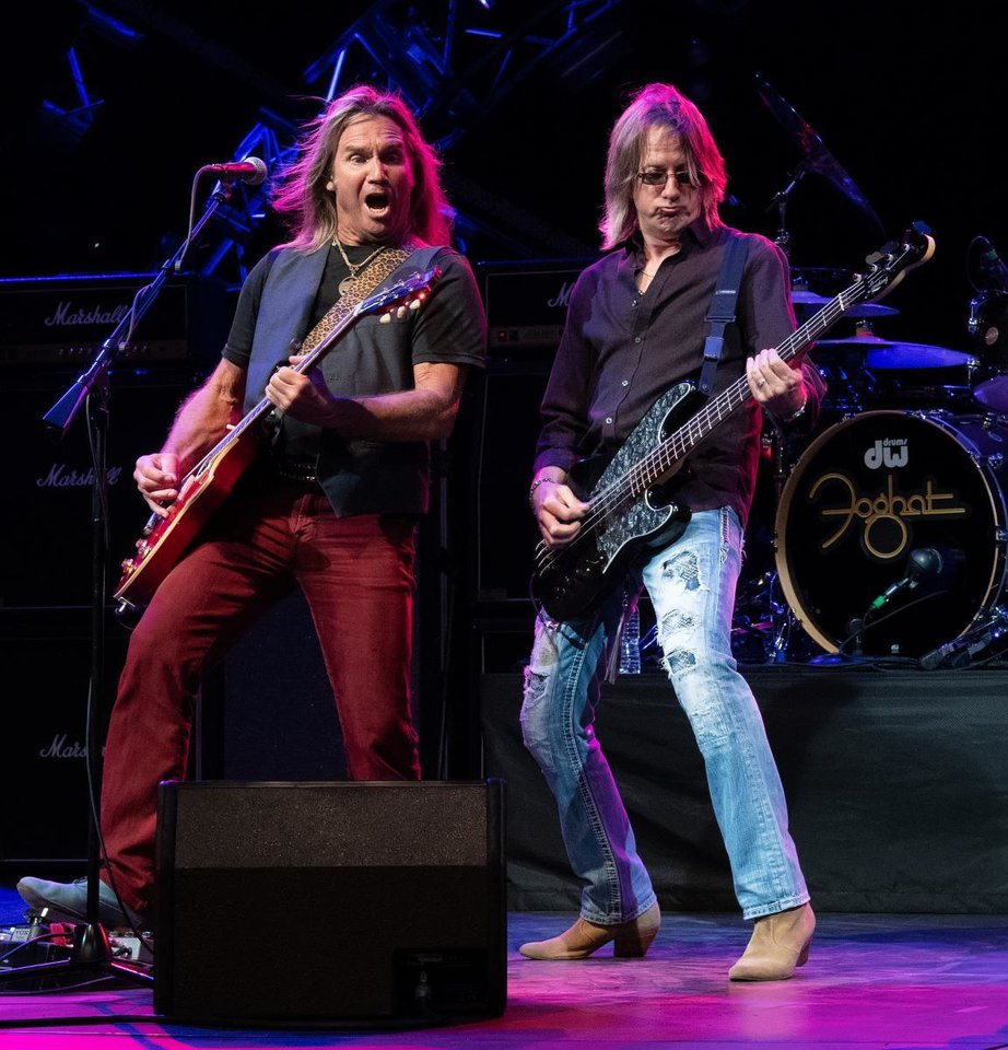 Foghat s Charlie Huhn (left) and Rodney O Quinn (right) play at Walt Disney  World in April. The band will be coming to the Oklahoma State Fair on Sept.  22. 8a1a0f6caa18