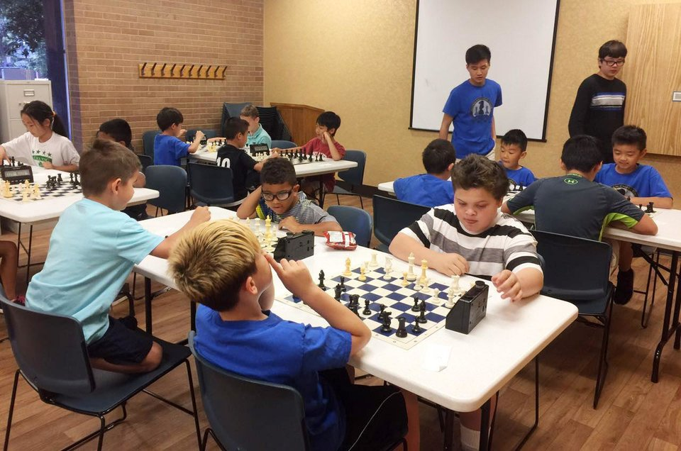 Photo -  Players compete in the end-of-the-season tournament. [Photo provided]