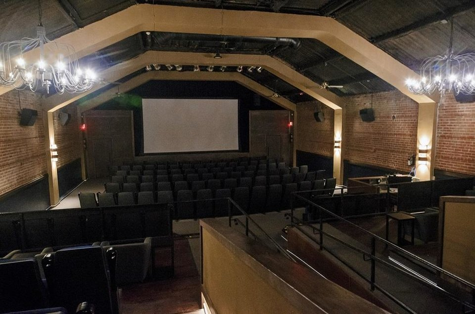 Photo - The theater at Rodeo Cinema, 2221 Exchange Ave. in Stockyards City in Oklahoma City, Okla., is shown on Friday, Sept. 21, 2018. The nonprofit indie theater, which opened in falll 2018, closed temporarily due to the coronavirus pandemic in March. [Chris Landsberger/The Oklahoman Archives]