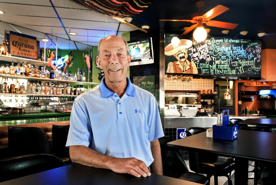 Photo -  Howie Shiff will close his restaurant Mamasita's in the middle of August after after 32 years of service. [Photo by Chris Landsberger, The Oklahoman]