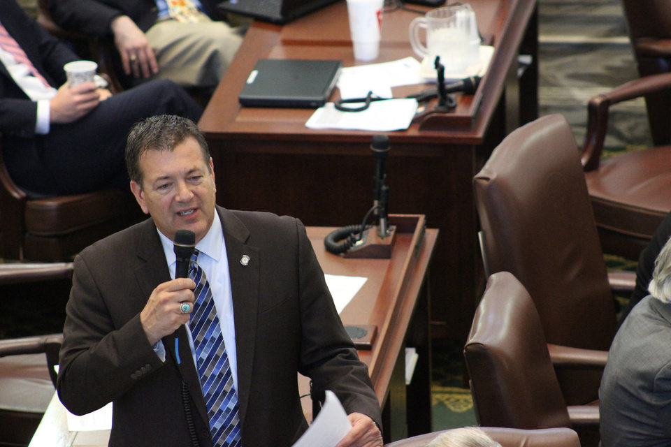 Photo -  Rep. Dan Kirby, R-Tulsa, House author of SB 1123, the Oklahoma Association of Realtors' request bill to statutorily define property management. [PHOTO PROVIDED BY OKLAHOMA ASSOCIATION OF REALTORS]