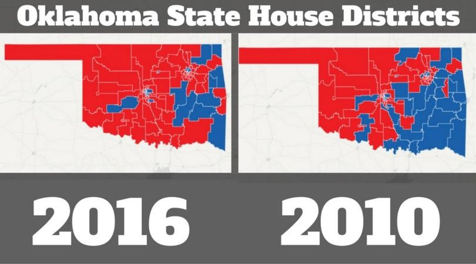 Oklahoma S Political Territory Has Dramatically Shifted