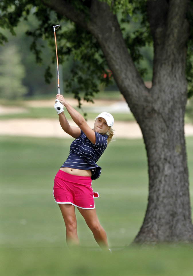 Class 6A girls golf: Edmond North players tied for ...
