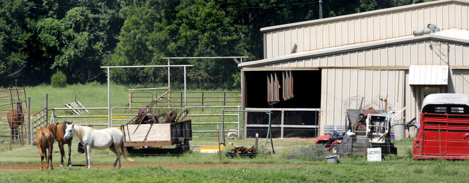 Photo -  An injured and starving 15-year-old boy was forced to sleep in a barn with goats, rabbits, chickens and other animals, authorities say. [Photo by Jim Beckel, The Oklahoman]