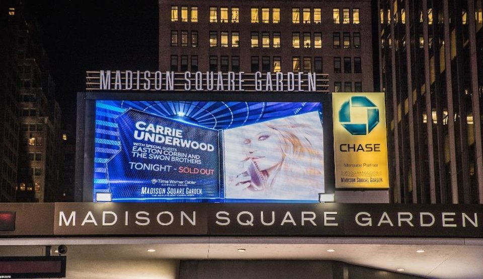 Photos Carrie Underwood Plays Sold Out Show At Madison Square Garden News Ok