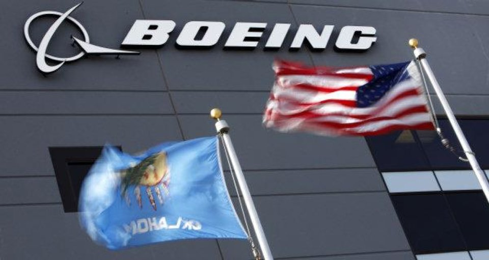 Photo - The Boeing office building in January 2011 in Oklahoma City.  Photo by Steve Gooch,  The Oklahoman Archive
