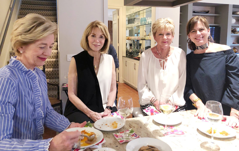 Photo - Alice Dahlgren, Joan Frates, Jane Thompson, Christy Holland. PHOTO PROVIDED