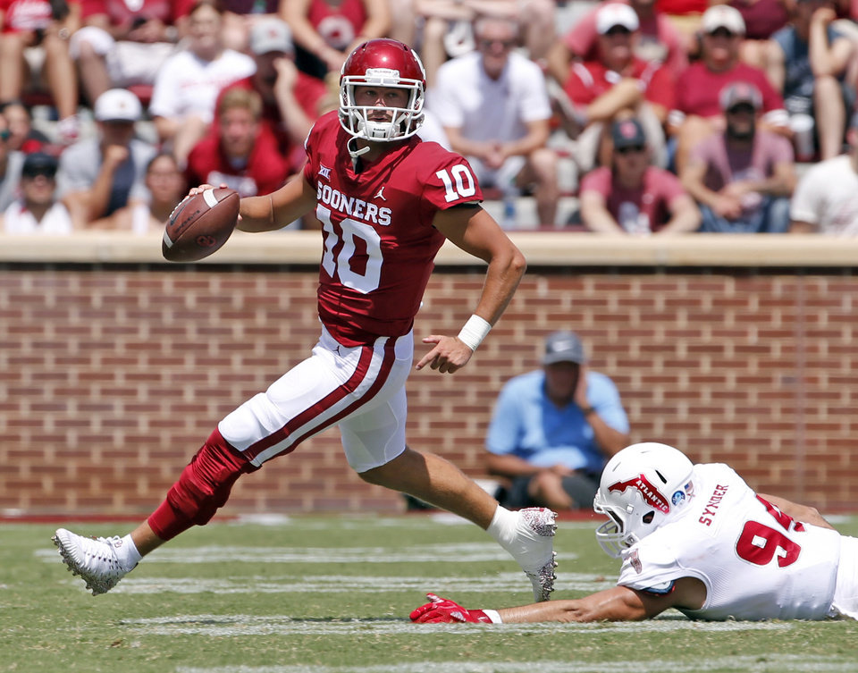 OU football: Lincoln Riley updates injury status of Austin ...