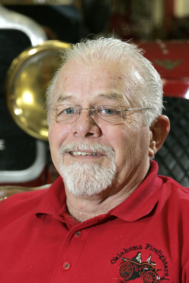 Photo - Mike Billingsley, manager of the Oklahoma State Firefighters Museum in Oklahoma City, Oklahoma September 2, 2009. Photo by Steve Gooch, The Oklahoman ORG XMIT: KOD