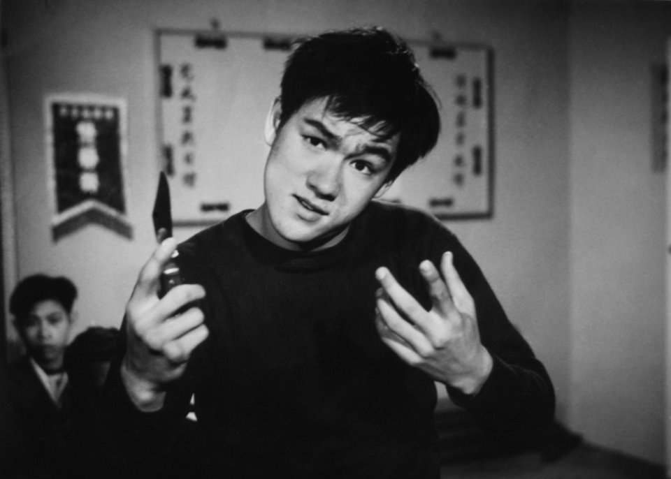 Photo -  Bruce Lee, 19, in his final Hong Kong film,