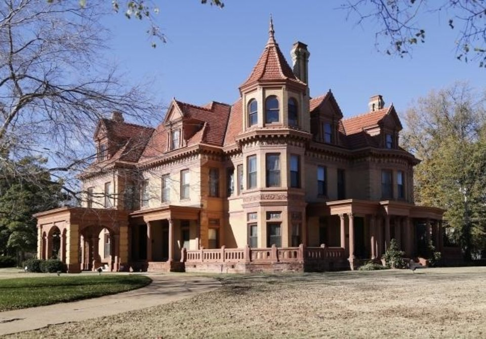 Photo -  The Oklahoma Historical Society Board of Directors voted on Nov. 10 to change the names of two state-owned historic homes