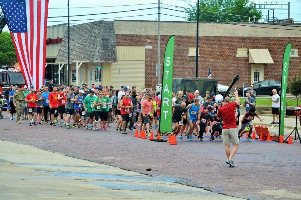Photo -  Runners prepare to start the 2017 Sgt. Bret D. Isenhower Memorial 5K in Seminole. This year's run is Saturday. [PHOTO PROVIDED]