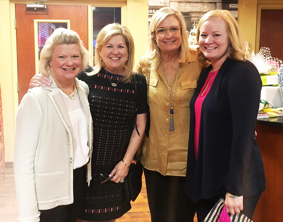 Photo - Gayle Everest, Susan Drake, Mary Kay Samis, Emily Everest. PHOTO PROVIDED