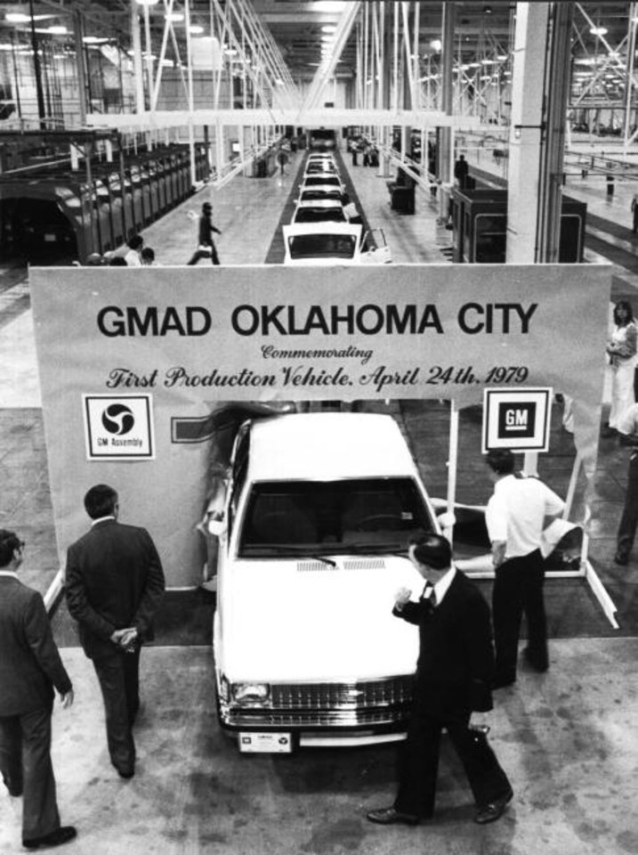 Photo -  In 1979, General Motors opened a manufacturing plant in Oklahoma City. By 2005, the plant was shuttered. [THE OKLAHOMAN ARCHIVES]