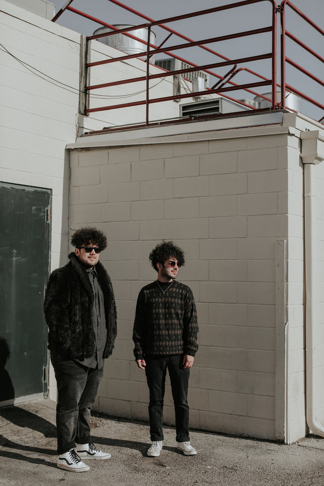 Photo -  Smokey Motel is brothers Isaiah Carter, left, and Steven Carter. The duo formed roughly a year ago and has released its first single under the new moniker. [Photo provided by Betsy Dutcher]