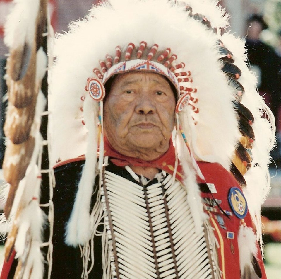 Photo - DEATH: Gus Palmer Sr., a former chairman of the Kiowa Tribe, died Saturday, 11/18/2006. ORG XMIT: KOD