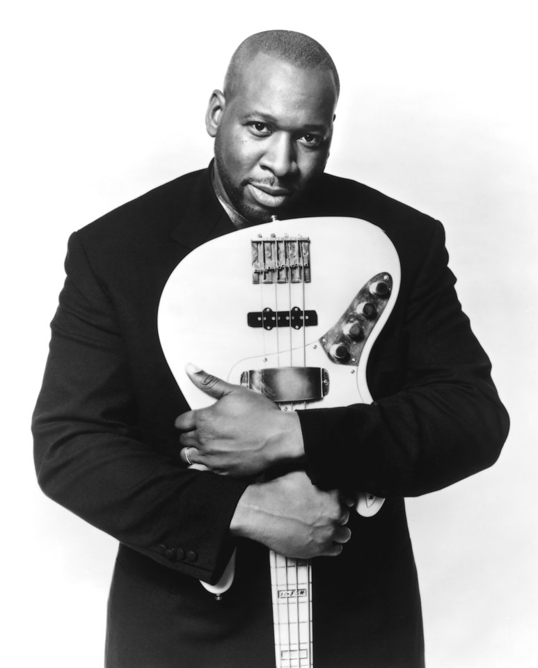 Photo - Wayman Tisdale, former OU college basketball star / musician