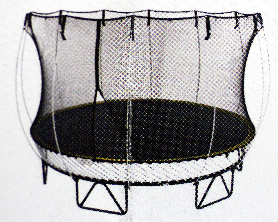 Attrayant Springfree Trampoline With Springs Mounted Underneath To Cause Fewer  Injuries At Statuary World Patio And Fireside