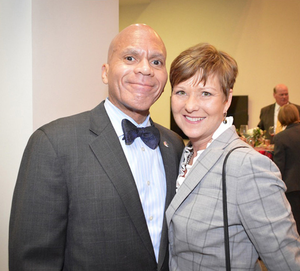 Photo - The Hon. Jerome Holmes, Jeri Holmes.  PHOTO PROVIDED