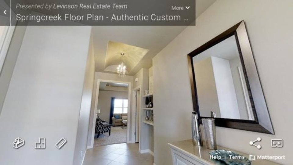 Photo -  Image from an Authentic Custom Homes online tour. [PHOTO PROVIDED]