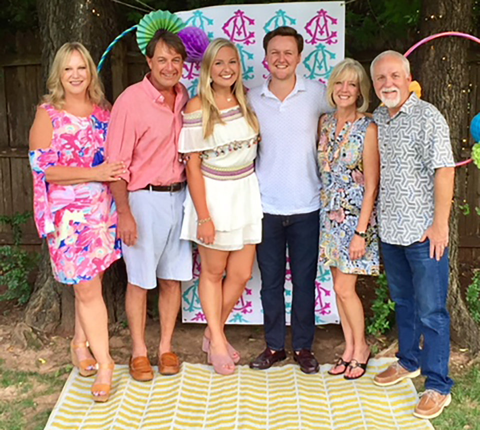 Photo - Libby,  David and Anna Denner, Carson, Lori and Perry Smith. PHOTO PROVIDED