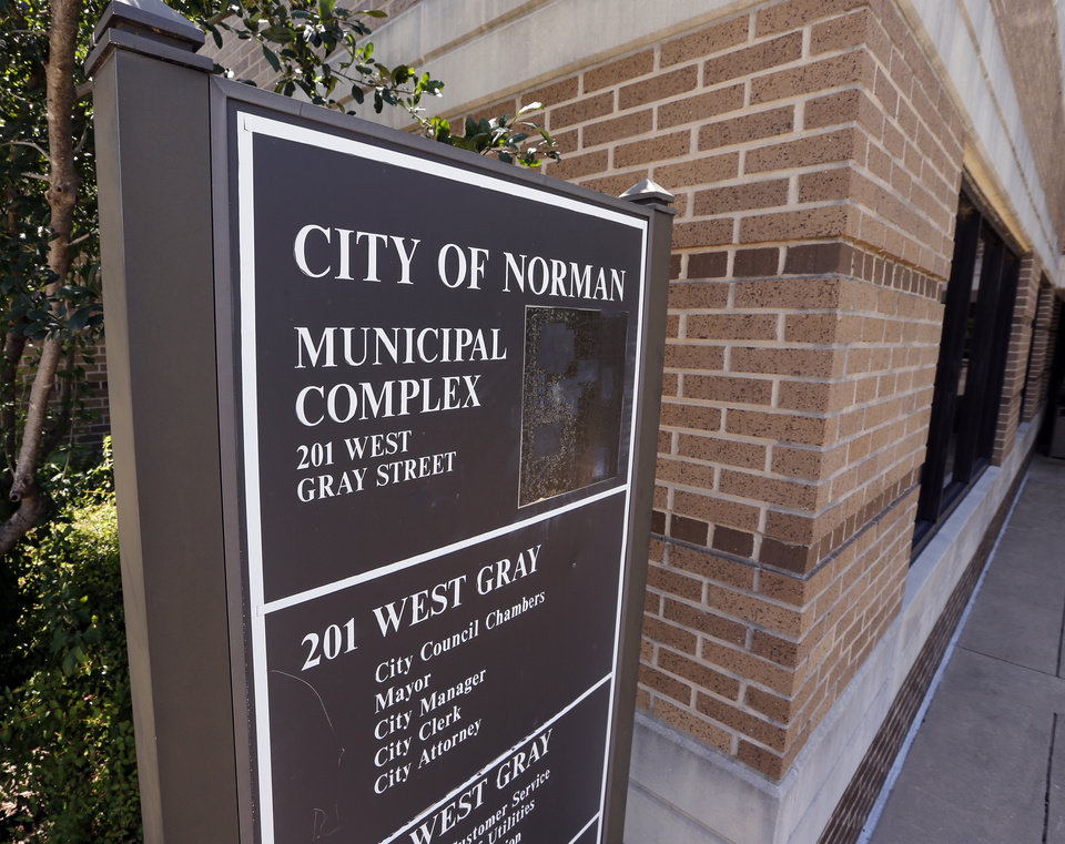 Photo - The City of Norman Municipal Complex [The Oklahoman archives]