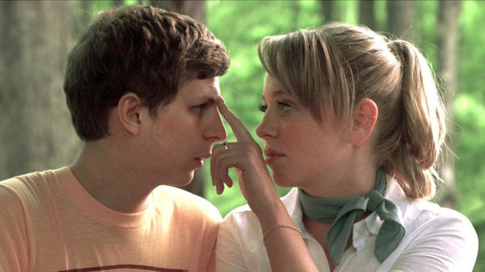 "Photo - Michael Cera, left, and Portia Doubleday share a scene in ""Youth in Revolt."