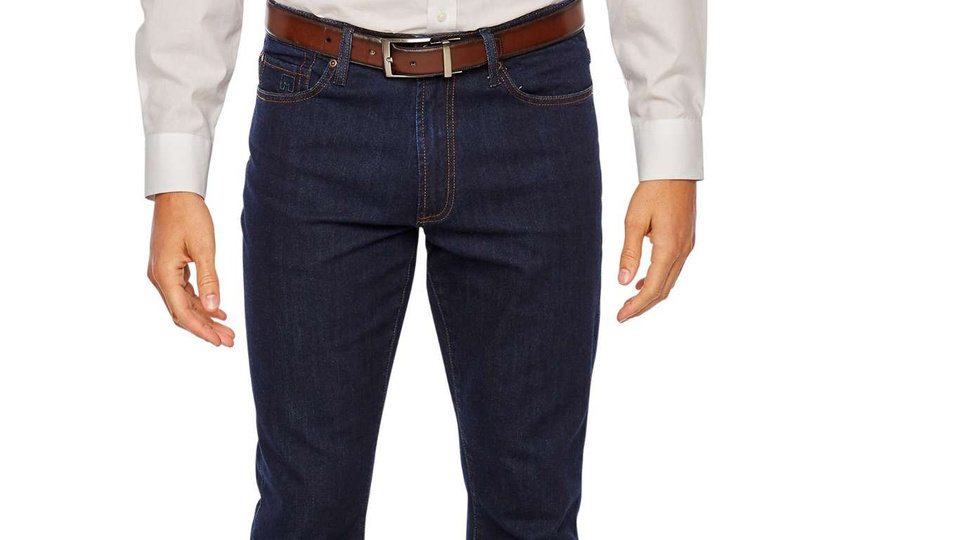Photo - Michael Strahan's clothing line for J.C. Penney now includes jeans.