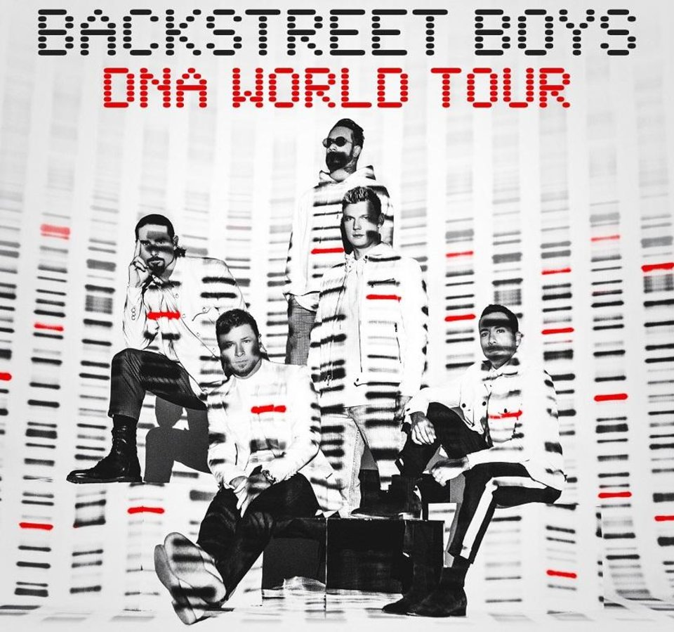 Photo - The Backstreet Boys have announced a new album,