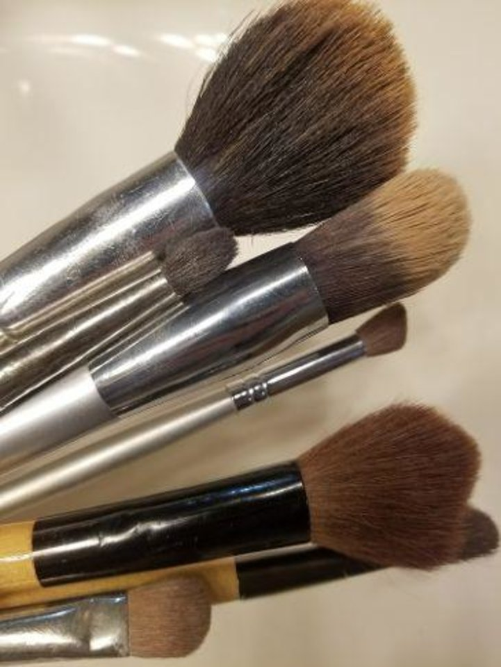Photo - Don't forget to clean your makeup brushes.