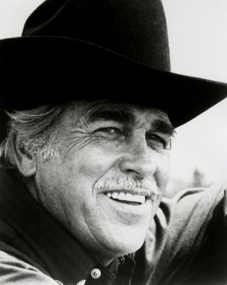 Photo -  The late musical and screen performer Howard Keel (1919-2004) will be inducted into the Hall of Great Western Performers Saturday during the Western Heritage Awards. [Photo provided]