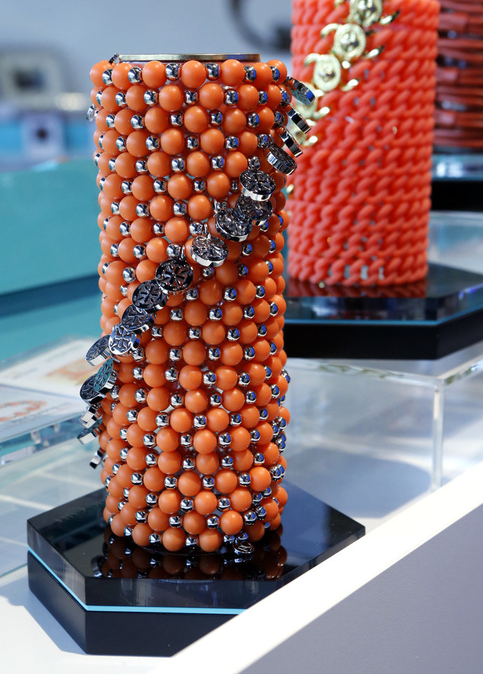 A Display Shows Stacked Rustic Cuff Jewelry At The Clen Curve Location In Oklahoma City On Feb 27 Photo By Steve Sisney Oklahoman
