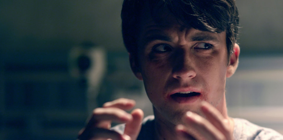"Photo -  Kyle Whalen stars as Denny Burke in ""The Posthuman Project."" [Reckless Abandonment photo]"