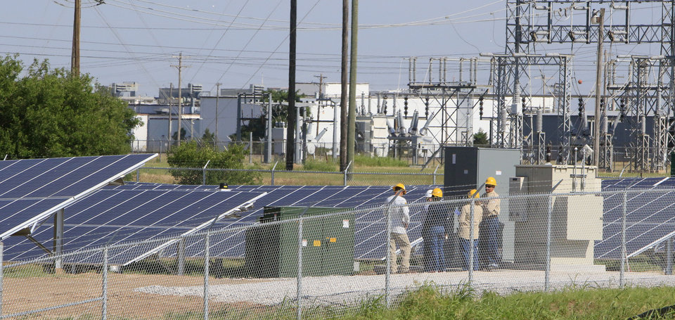 Oklahoma Gas And Electric Co Embarks On 2 5 Megawatt