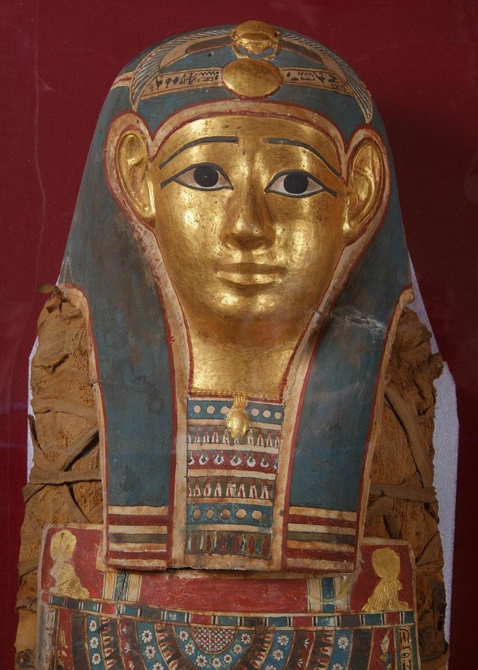 Photo - Although the Mabee-Gerrer Museum of Art boasts treasures from all over the world, its Egyptian mummy called Tutu is especially beloved. [Photo provided]