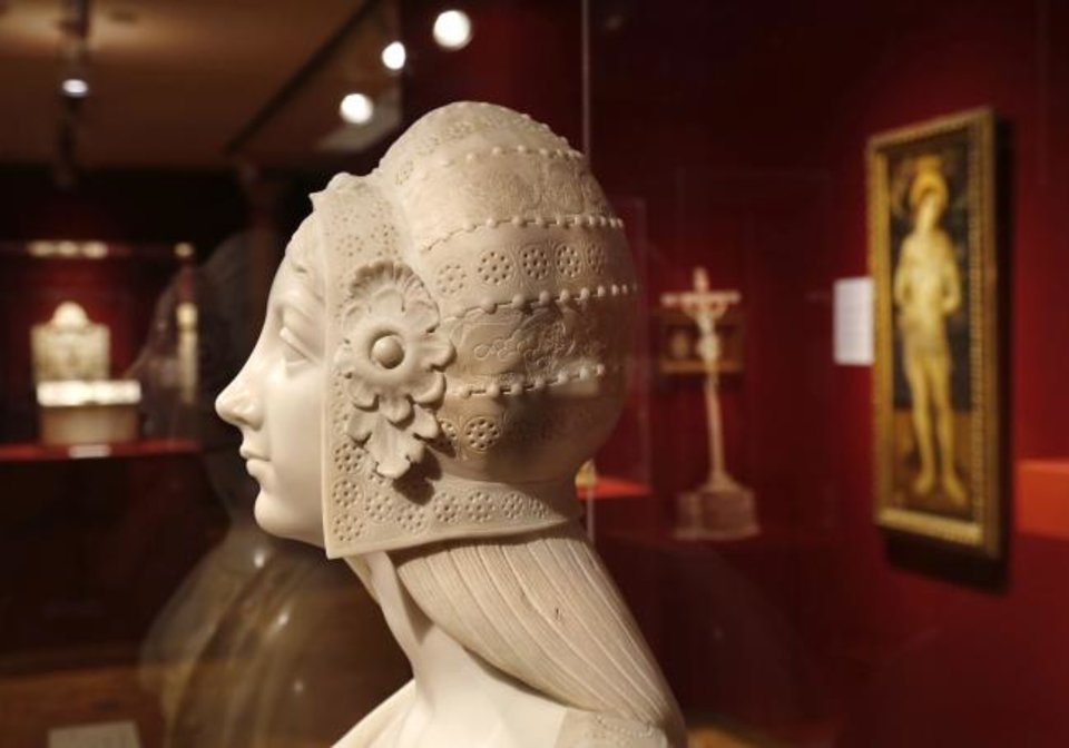 Photo -  The Mabee-Gerrer Museum of Art in Shawnee boasts an eclectic collection of artworks and artifacts from around the world. [The Oklahoman Archives]