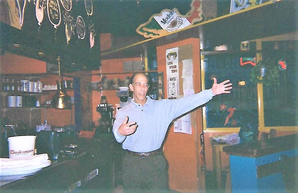 Photo -  Mamasita's owner Howard Shiff shows off the restaurant in the 1990s. [Photo Provided]