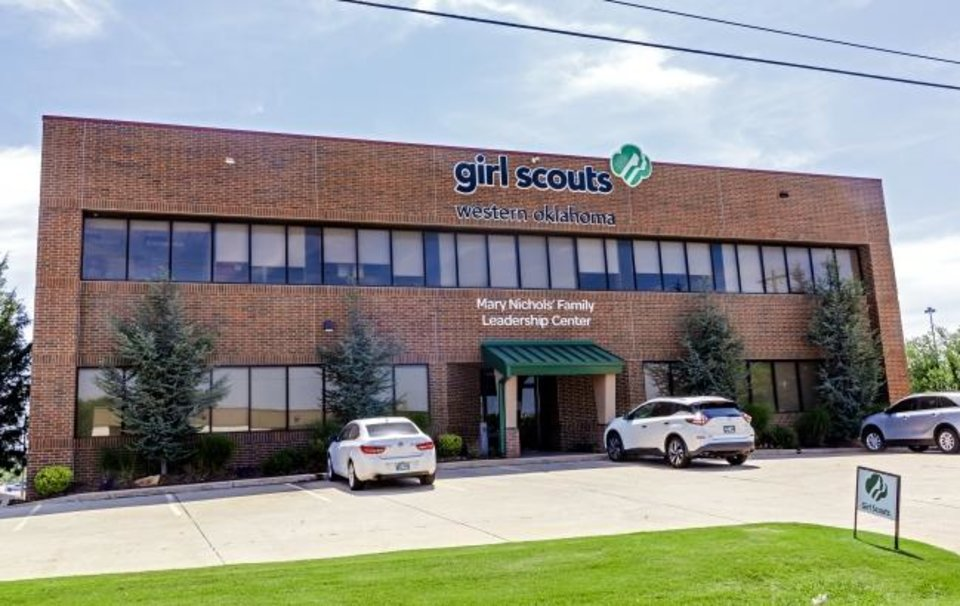 Photo - Girl Scouts of Western Oklahoma office located at 6100 N. Robinson Ave. in Oklahoma City, Okla. on Thursday, July 25, 2019.  [Chris Landsberger/The Oklahoman]