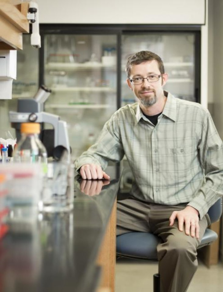 Photo -  Oklahoma Medical Research Foundation scientist Lorin Olson, Ph.D.