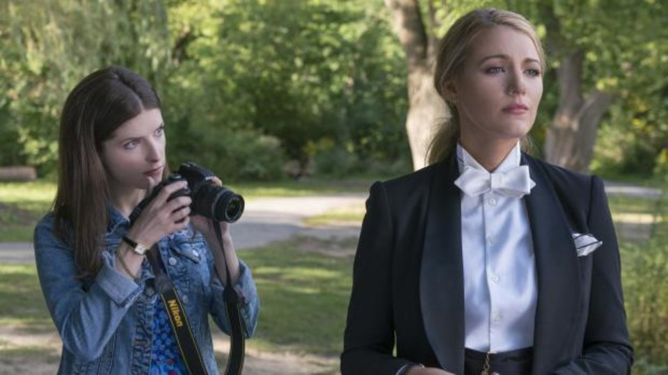 Photo - Anna Kendrick, left, and Blake Lively appear in a scene from