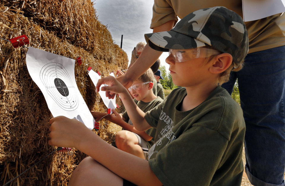 Cub Scouts converge in Norman for day camp